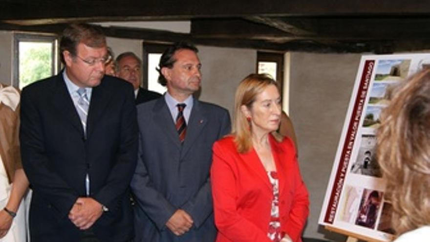 Ana Pastor, durante su visita a Segovia.