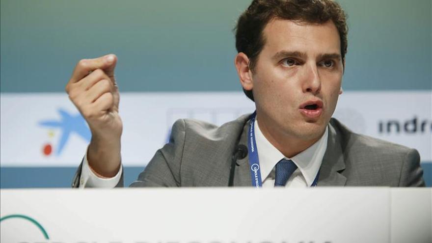 """Rivera asegura que Ciudadanos no participará de ningún """"cordón sanitario"""""""