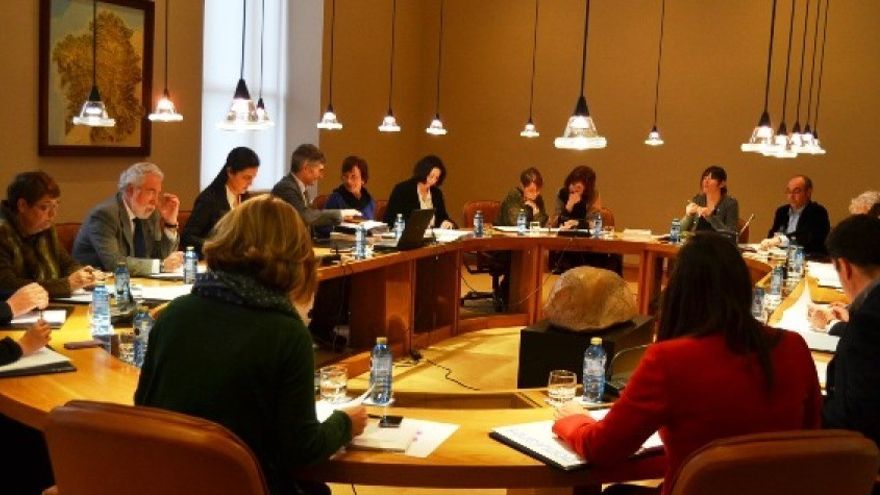 Reunión de la Junta de Portavoces del Parlamento de Galicia