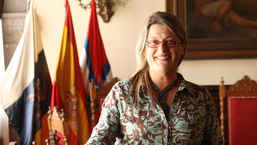 Nieves Pilar Rodríguez, concejal de Economía, Hacienda y Cuentas de Santa Cruz de La Palma.