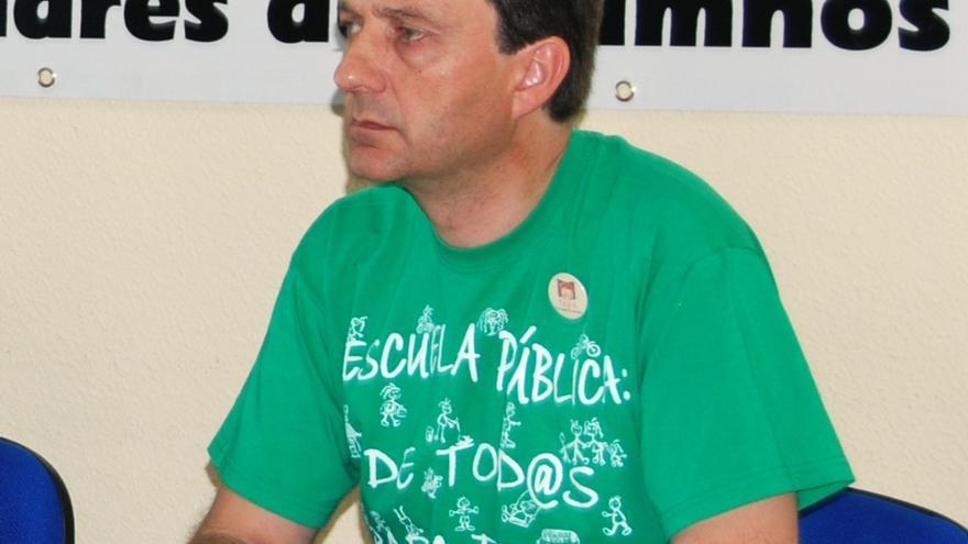 José Luis Pazos, presidente de la FAPA Giner de los Ríos.