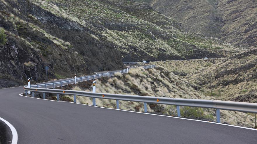 Turnos de 24 horas y voladuras en los túneles: el Gobierno de Canarias impulsa las obras de la carretera a La Aldea