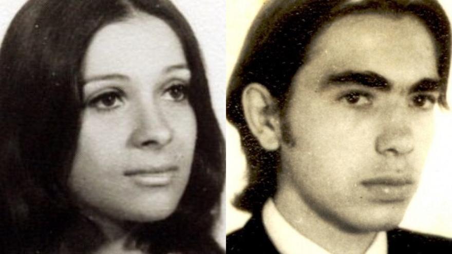 Patricia Roisinblit y José Manuel Perez Rojo, padres de la autora