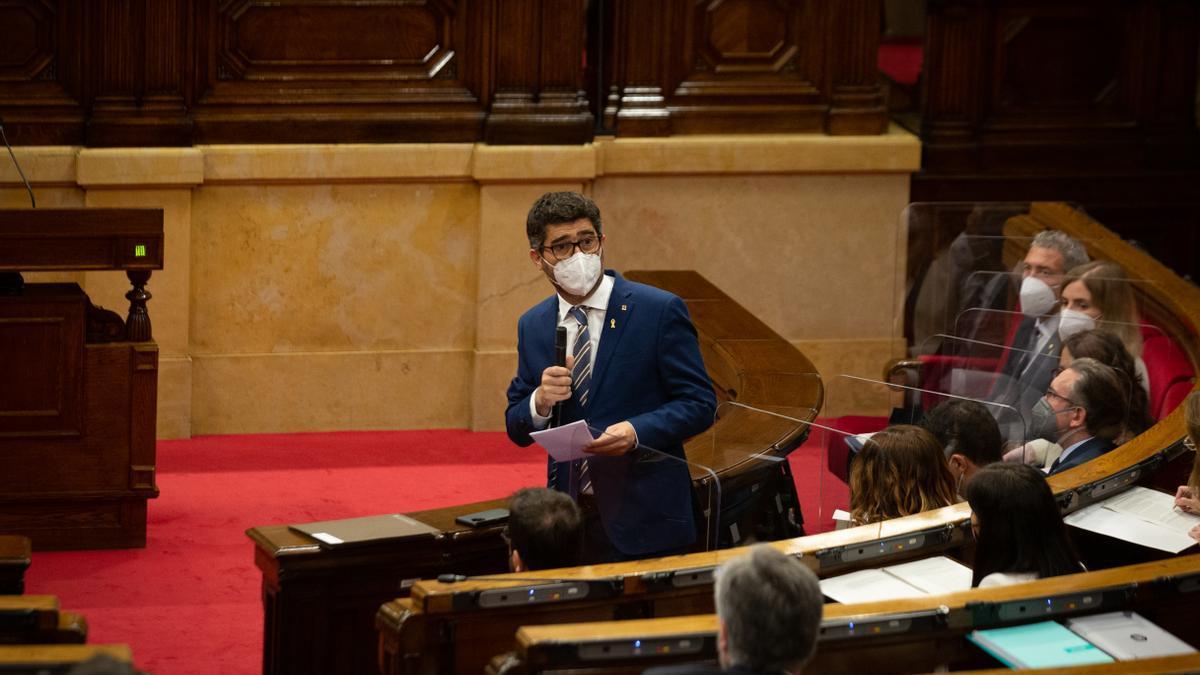 El vicepresidente y conseller de Políticas Digitales y Territorio de la Generalitat, Jordi Puigneró