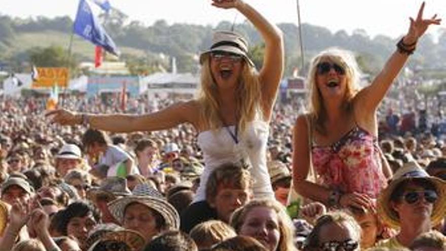Imagen del Festival de Glastonbury 2009