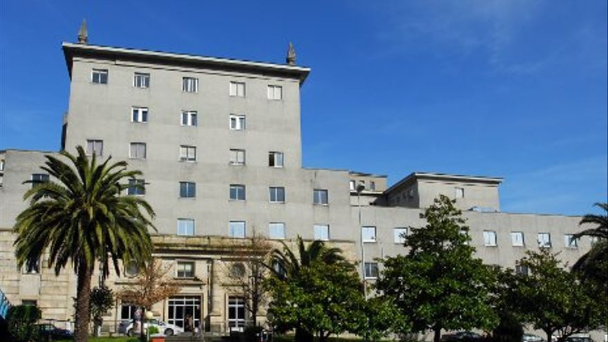 Hospital Teresa Herrera de A Coruña.