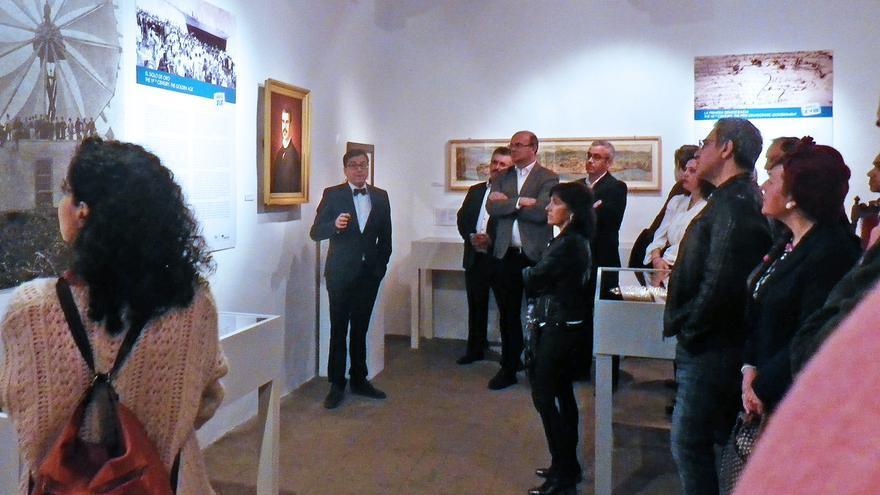Inauguración de la exposición 'Cinco mitos para cinco siglos'.
