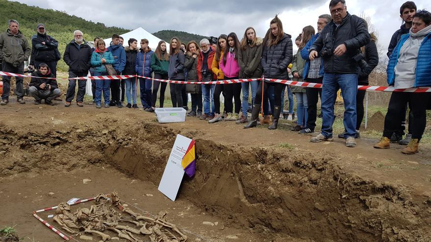 Excavación en Urdaniz (Navarra)