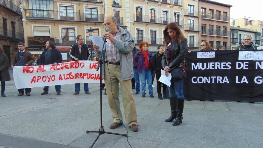 Acto y lectura del manifiesto en Toledo / eldiarioclm.es