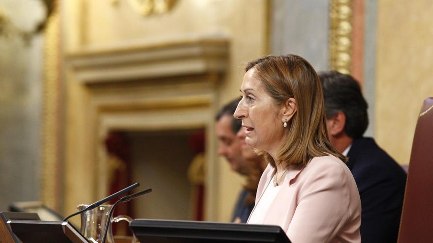 """Ana Pastor dice a Pedro Sánchez que """"hablar no es el fin, sino un medio para lograr un objetivo"""""""