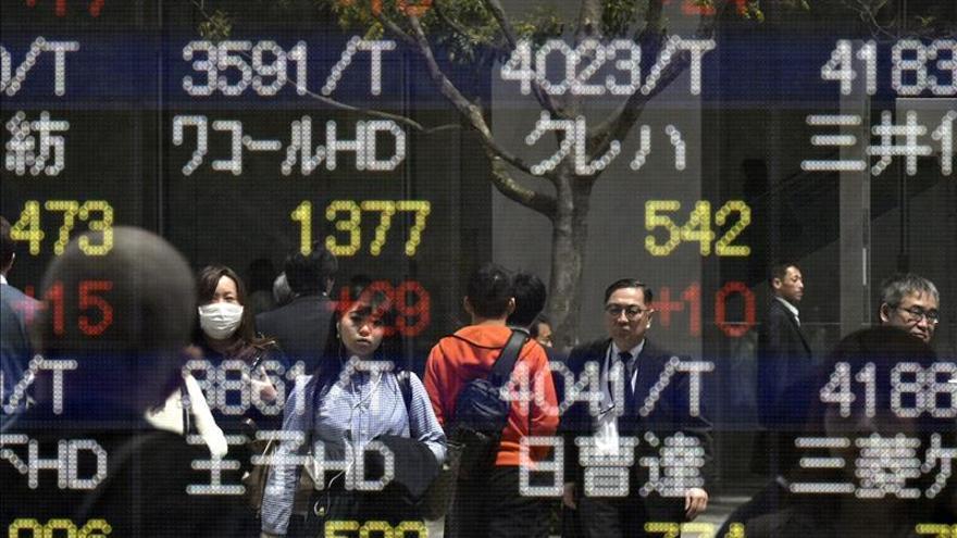 El Nikkei sube un 0,04 por ciento hasta los 20.210,37 puntos