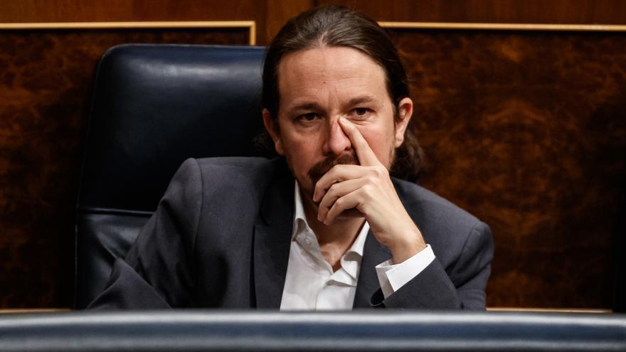 Iglesias descarta ser imputado en el caso Dina, dice que entregó en buenas condiciones la tarjeta y que Sánchez le apoya
