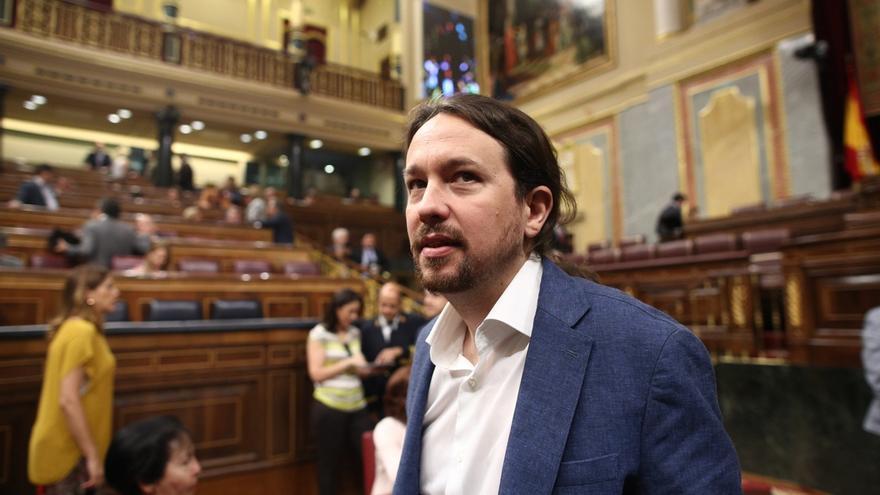 """Pablo Iglesias defiende la legalización de la marihuana como en Canadá, y que España sea """"referencia"""" en exportación"""