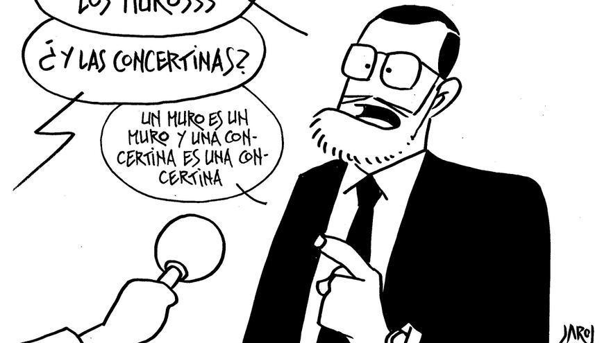 El muro y Rajoy