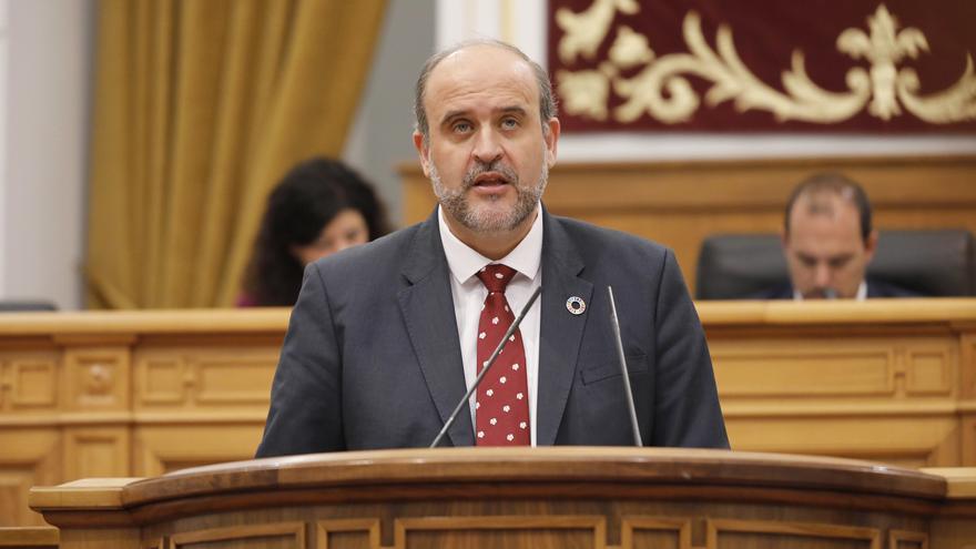 El vicepresidente de Castilla-La Mancha, José Luis Martínez Guijarro