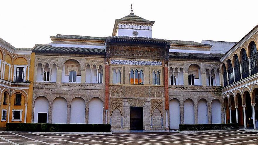 Patio de la Montería del Alcázar de Sevilla