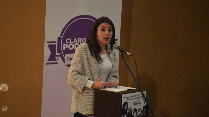 Irene Montero, Consejo Ciudadano estatal de Podemos / Foto: Javier Robla