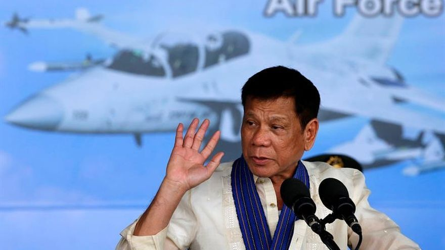 """Filipinas rebaja el tono con EEUU tras llamar """"hijo de puta"""" a Obama"""