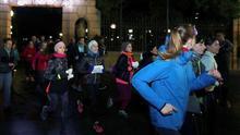 Más de mil personas reivindican en Soria el derecho a correr solas