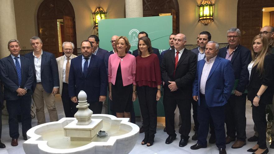 Presentación aforo del olivar campaña 2016/2017