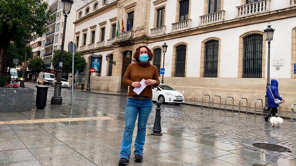 La parlamentaria cordobesa de Adelante Andalucía, Ana Naranjo.