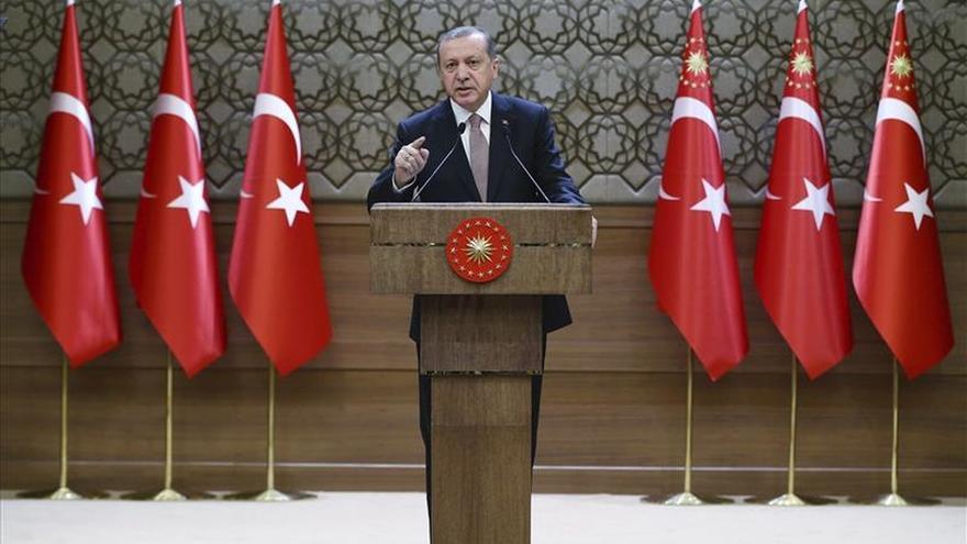 """Erdogan dice que Turquía es el único país que """"realmente"""" combate al EI"""