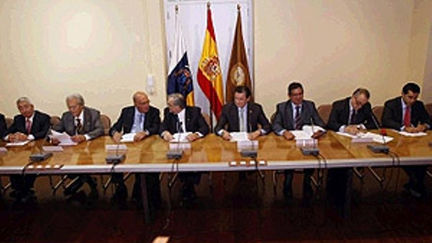 El Consejo Social celebró el XXV aniversario con una declaración institucional. (ACFI PRESS)