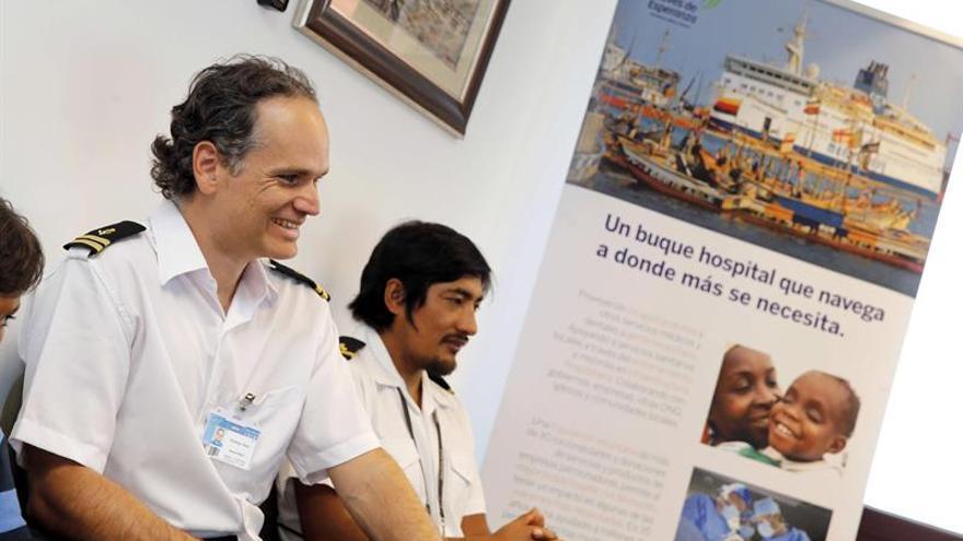 La ONG Naves de Esperanza construye en China un buque hospital con 150 camas