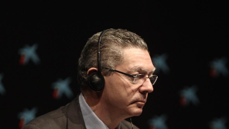 """Gallardón avisa a Mas: """"Si firma un decreto de convocatoria al minuto siguiente estará impugnado ante el TC"""""""