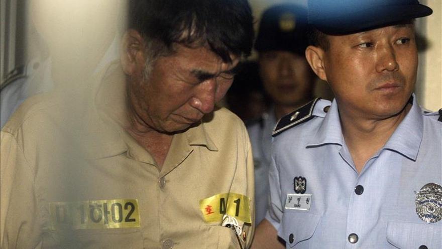 El capitán del ferri surcoreano recurre la sentencia de 36 años de cárcel