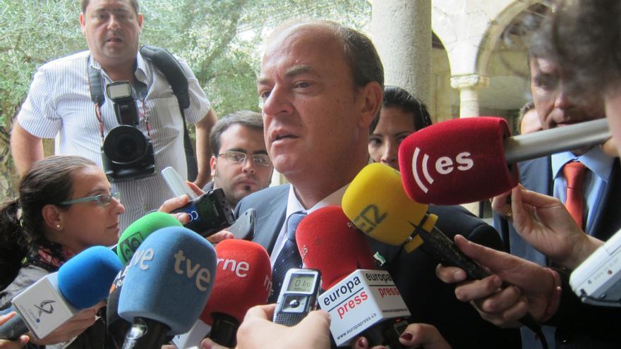 """Monago vería """"perfecto"""" una consulta popular nacional sobre Cataluña ya que """"de España tienen que opinar los españoles"""""""