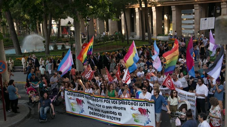 Movilización LGTBI en Albacete