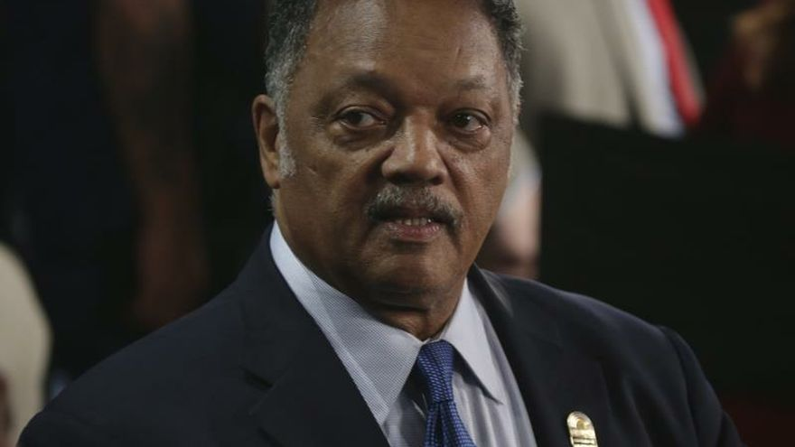 """Reverend Jesse Jackson calls for a """"coalition"""" of Hispanics and African Americans"""