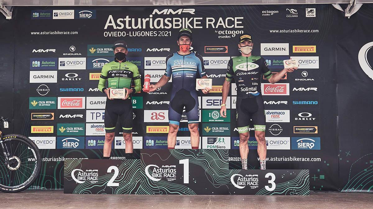 Miguel Muñoz, ganador de la Asturias Bike Race
