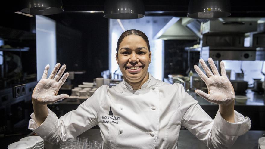 La cocinera dominicana María Marte.