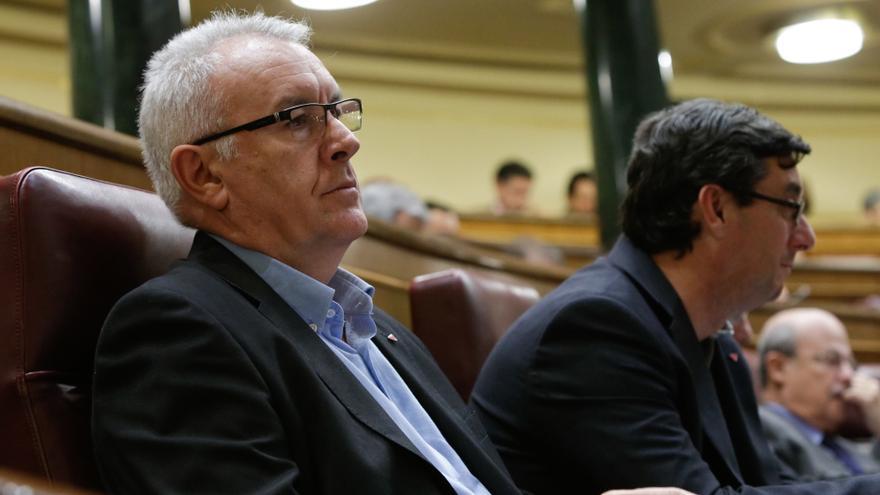 """IU se compromete a """"desmontar"""" las """"agresiones"""" del PP al Estado social cuando la matemática parlamentaria lo permita"""