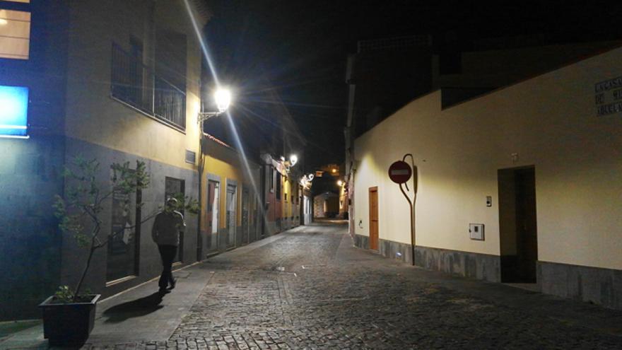 Casco de Santa Brígida de noche