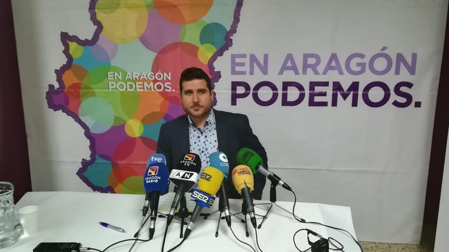 Lambán solicitó un encuentro con Nacho Escartín, que este ha rechazado