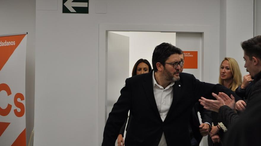 Miguel Sánchez, portavoz regional de Cs / A. G. A.