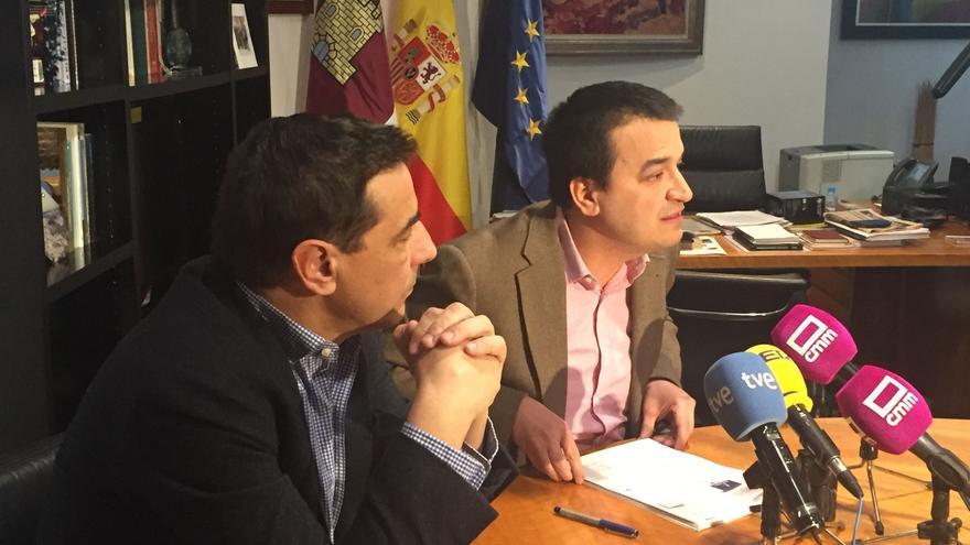 Francisco Martínez Arroyo, ayer, en rueda de prensa