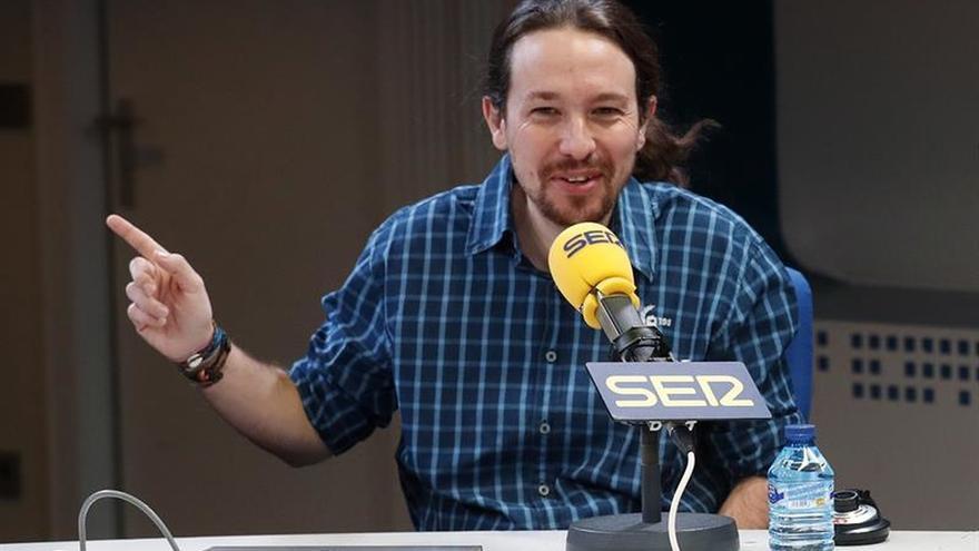 """Iglesias: S.Santamaría es una """"caradura"""" si dice sentir vergüenza por el debate"""