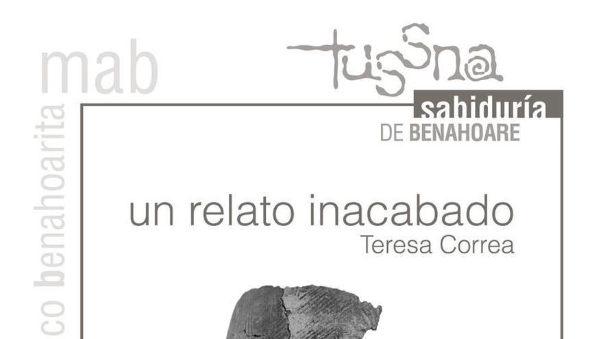 Cartel de la exposición 'Un relato inacabado'