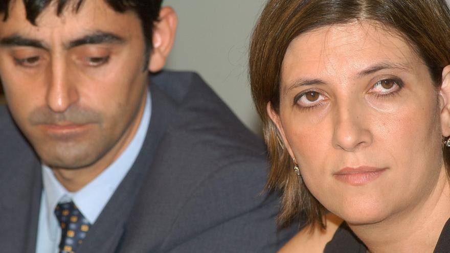 Curra Ripollés y Alfonso Agullo, de la Asociación de Familiares de los 62 militares españoles fallecidos en el accidente de avión Yakolev 42-D