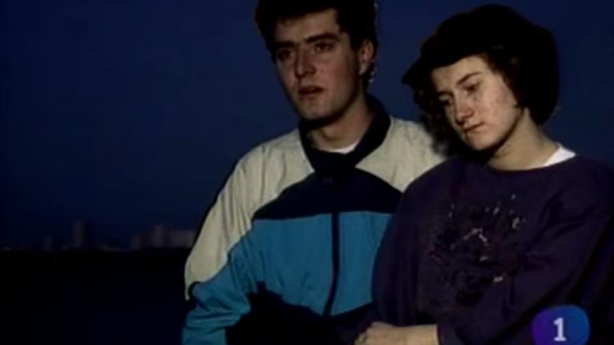 Testimonio del reportaje de 1995 sobre refugiados bosnios en España emitido por Informe Semanal