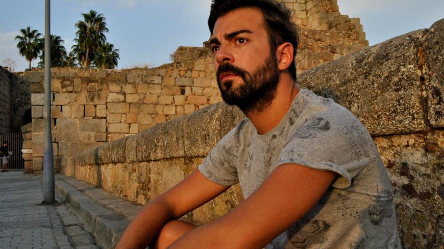 José Cordero, un joven de 28 años desempleado, pone de manifiesto las dificultades para encontrar un trabajo