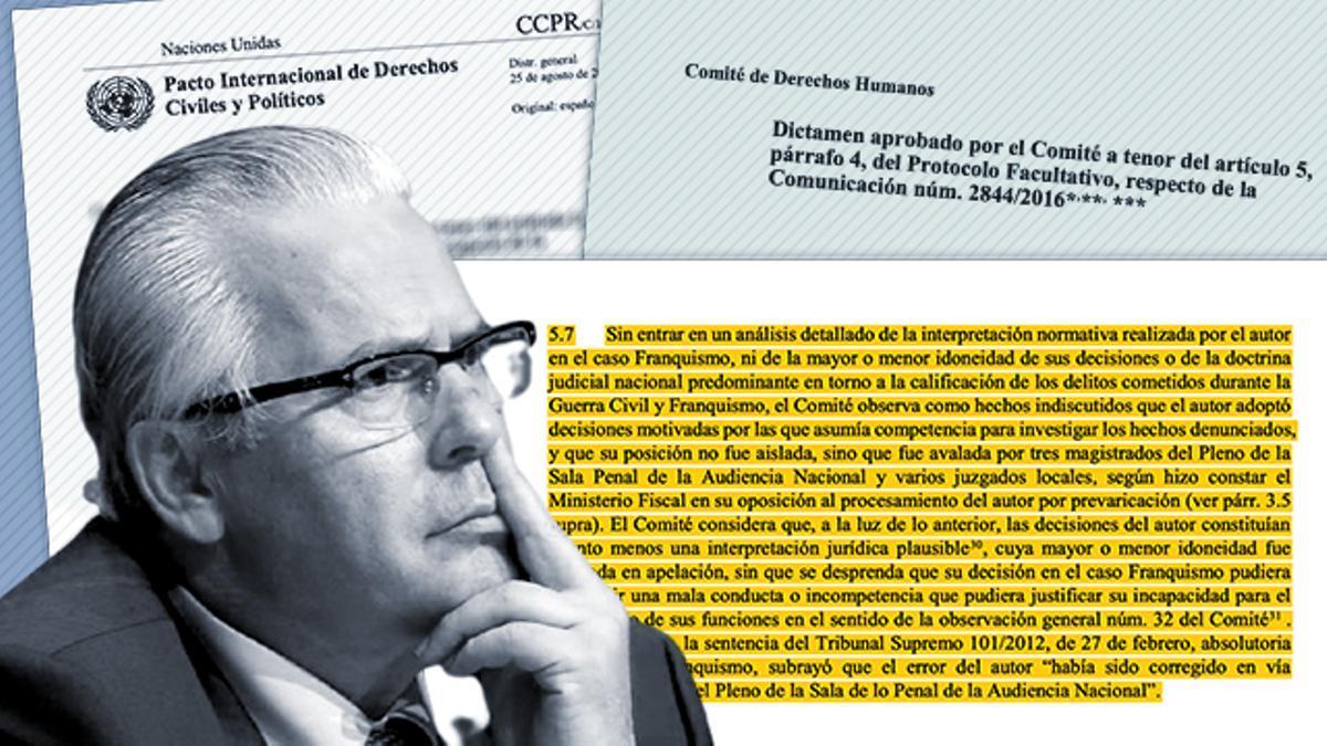 El exmagistrado de la Audiencia Nacional Baltasar Garzón.