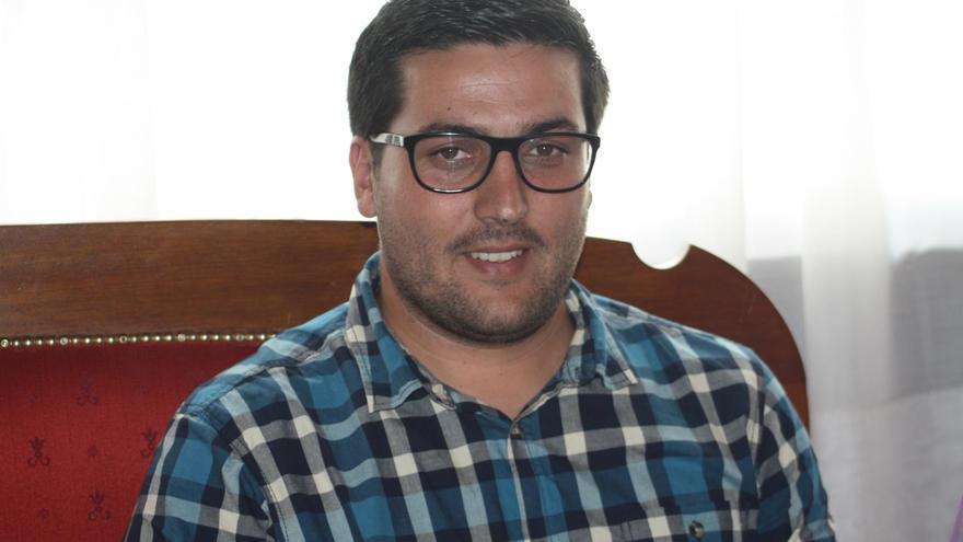 Raico Arrocha, concejal de Deportes de Santa Cruz de La Palma.