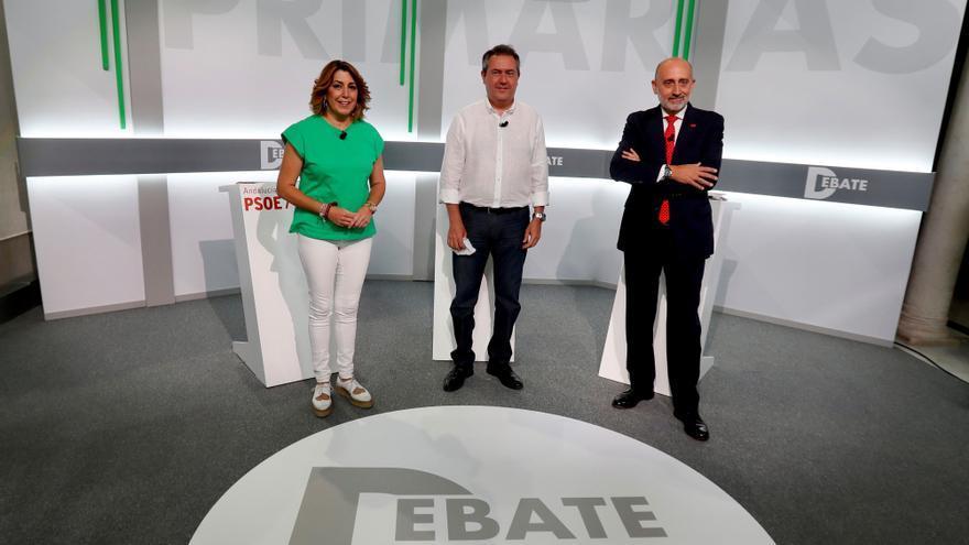 Más de 45.000 militantes están llamados a votar en las primarias del PSOE-A