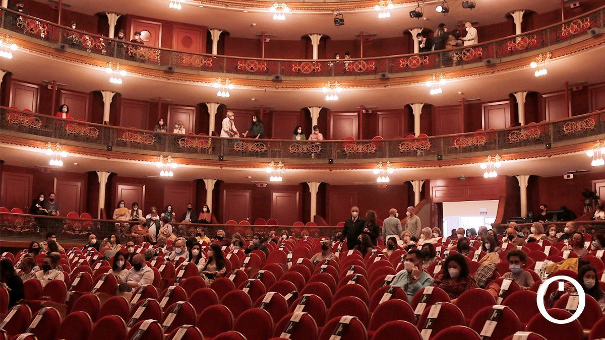 Público en la obra 'La Casa de Bernarda Alba'
