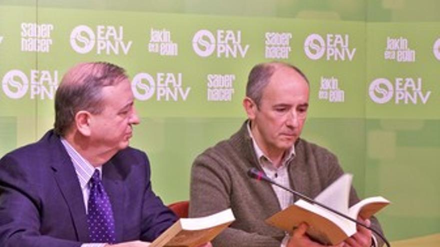 Josu Erkoreka e Iñaki Anasagasti